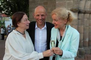 Claudia, Maxine und Peter (2)