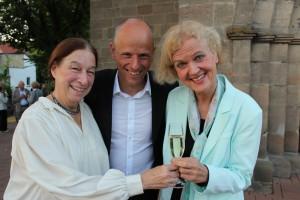 Claudia, Maxine und Peter (3)