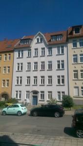 Fassade mit Schornsteinkopf