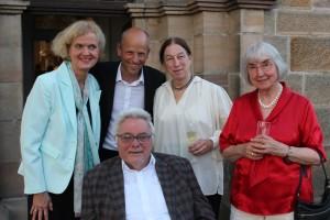 Claudia, Maxine, Peter, Neumeyers