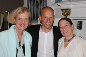 Claudia, Peter, Maxine in Wrexen